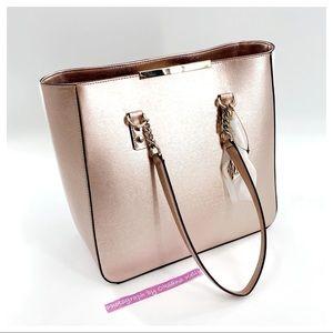 DKNY Large Tote metallic pink Shoulder Bag